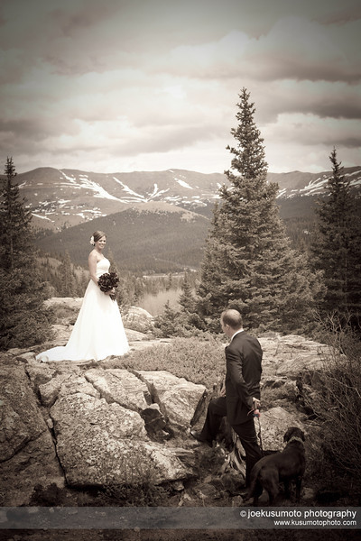 [PHOTO SHOOT LOCATION] Blue Lakes Road, South of Breckenridge, Colorado.  Breckenridge Wedding Photography  |  photo[JoeKusumoto]