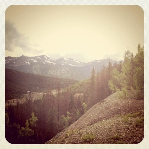 [TRAIL] The View from the Minnie Mine in Breckenridge, Colorado.  |   photo[StacySanchez]
