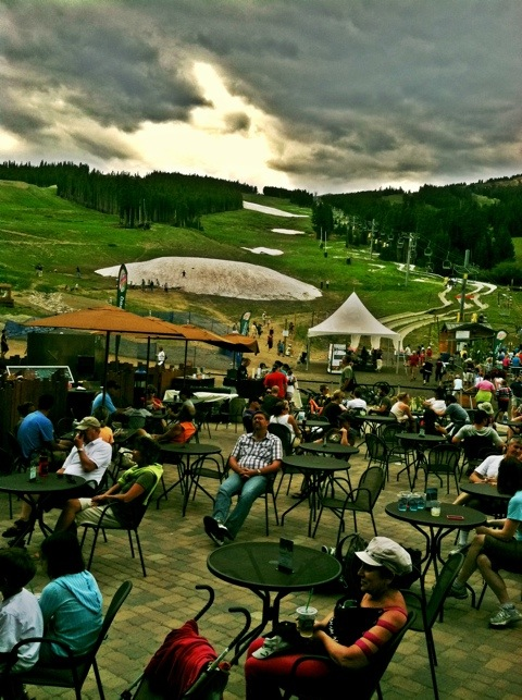 The base of Peak 8 at the Breckenridge Ski Resort in the summertime. | photo[StacySanchez]