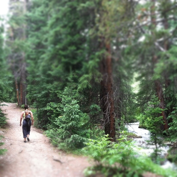 [PHOTO SHOOT LOCATION]  Burro Trail: Creekside Paths on Peak 9 in Breckenridge, Colorado  |  photo[StacySanchez]