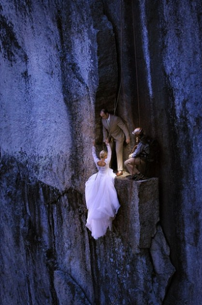 [PHOTO SHOOT LOCATION] Cliffhanger Photo Session | photo[philbrickphoto.com] Mountain Wedding Photography