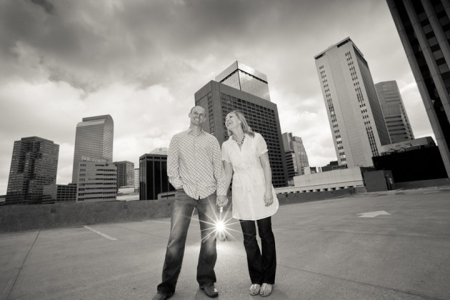 { 1 Mile High - ENGAGEMENT } Sarah + Scott in Denver, Colorado.  One Mile High Engagement photo session by Revert Photo.  |  photo[revertphoto.com]  Denver engagement photography