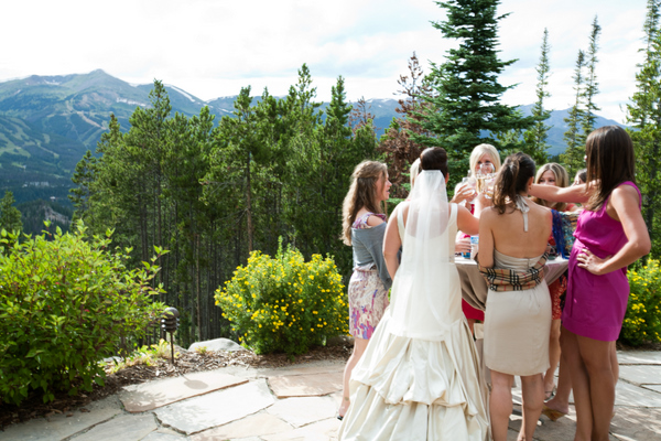 { REAL MOUNTAIN WEDDING } Annie + Matt married inside St. Mary's Church with reception at Rubywood in Breckenridge,Colorado  |  photo[ashleydavisphotography.com]  Breckenridge wedding photographer, Paragon Lodging, Private Home Rental, Colorado destination wedding.