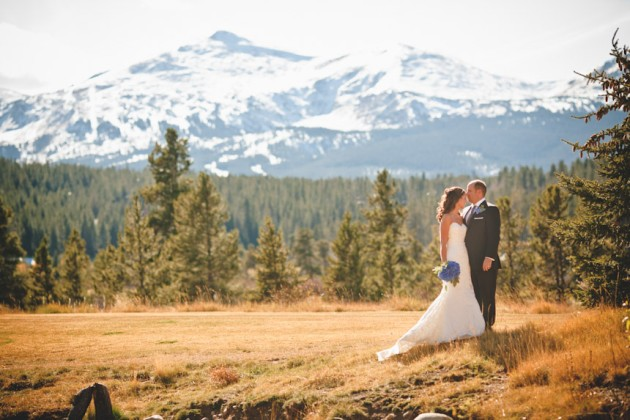 Real Mountain Wedding Beth Mark in Breckenridge Colorado