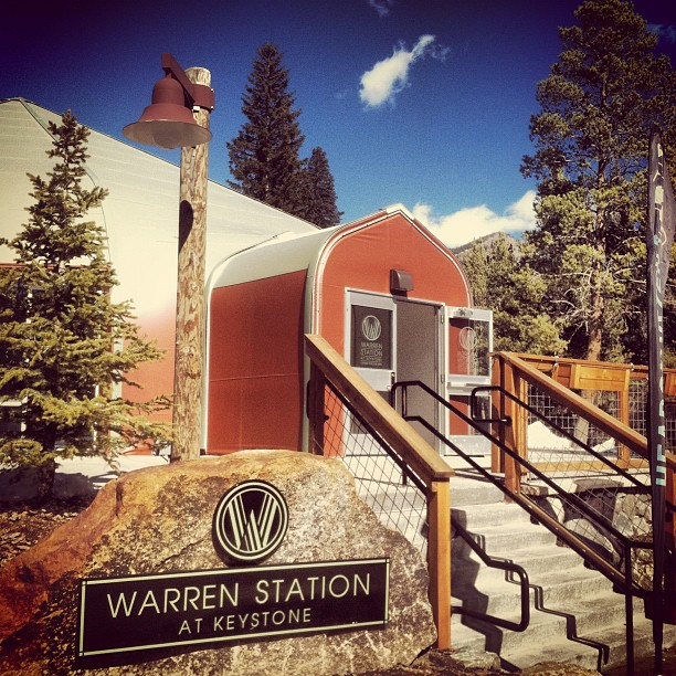 [VENUE] Warren Station in Keystone Resort's River Run Village in Keystone, Colorado