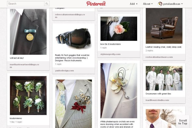 [GROOM-ER] Finding Inspiration on How to Dress the Boys using Pinterest