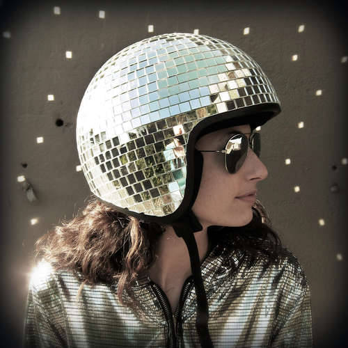 [How To] Create a Disco Ball Helmet for your Bride-to-be.  A Groom-er DIY project.