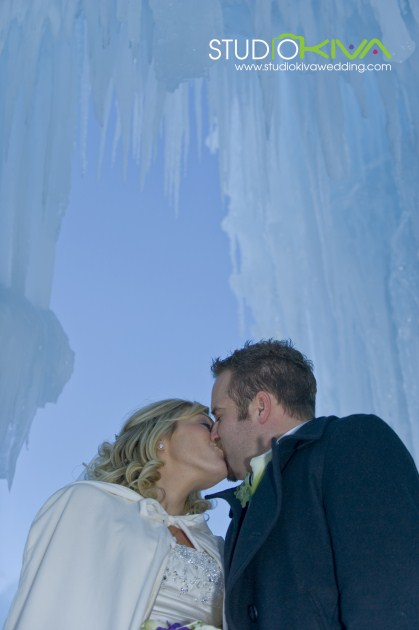 [ Vendor ] Studio Kiva Photography // Winter Wedding Photo Shoots at the Ice Castles In Silverthorne: Part Two  |  Studio Kiva Photography, Katie Girtman, Colorado Wedding Photographer, Silverthorne Colorado, Ice Castles, Photo Shoot Location