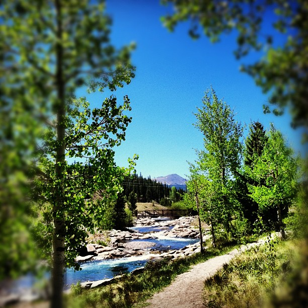 Breckenridge, Colorado:  Skate Parks, Riverside Trails and Picnic Tables - Breckenridge activities, skateboarding, hiking, kid-friendly, family hike
