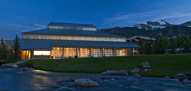 [Venue] The Riverwalk Center in Breckenridge, Colorado  |  Photo courtesy of Carl Scofield, www.carlscofield.com