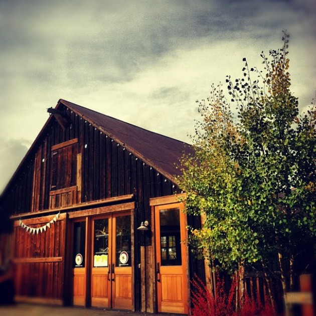 Adventure Wedding Basecamp // The Barn at 201 N Main in historic downtown Breckenridge, Colorado. Breckenride florist, event design and wedding planning services.