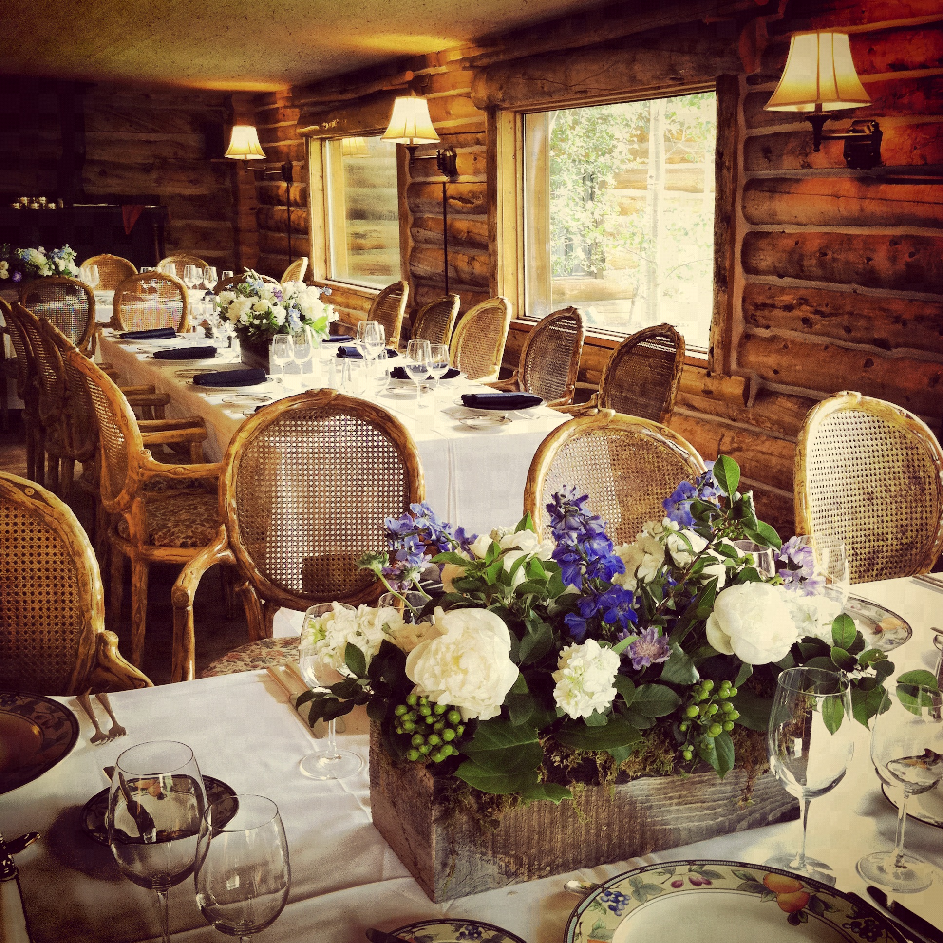 [Venue] the Keystone Ranch Restaurant in Keystone, Colorado.