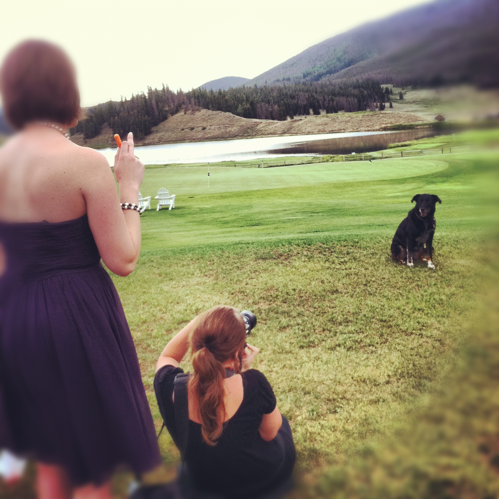 [Venue] the Keystone Ranch Restaurant in Keystone, Colorado.  Wedding venue, event location, tent, golf course