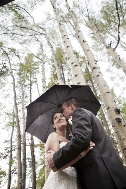 {Real Mountain Wedding} Dani + Joe: Ceremony at St. Mary's Catholic Church / Reception at the Silverthorne Pavilion