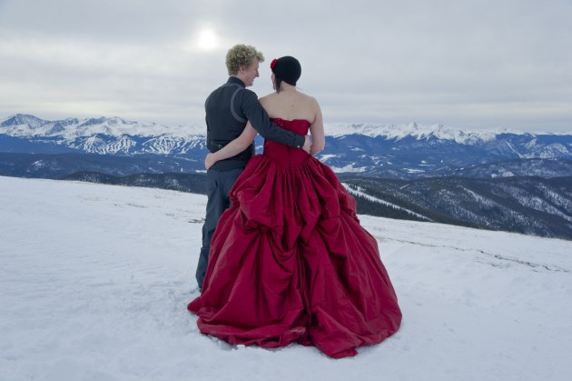 { Real Mountain Wedding } Claire at Keystone, Colorado  |  Photo courtesy of Studio Kiva - www.studiokivawedding.com