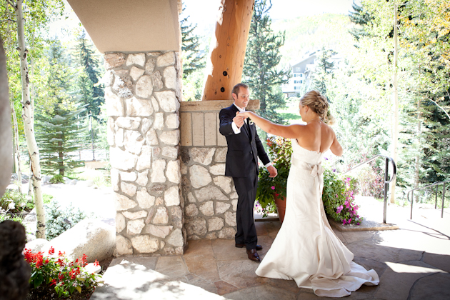 { Real Mountain Wedding } Meg + Ben at the Donovan Pavilion in Vail, Colorado | Tara Low Photography