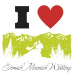 I Heart Summit Mountain Weddings Badge