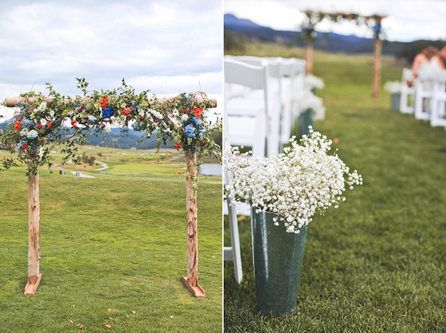 Ideas for Dressing up the Aisle