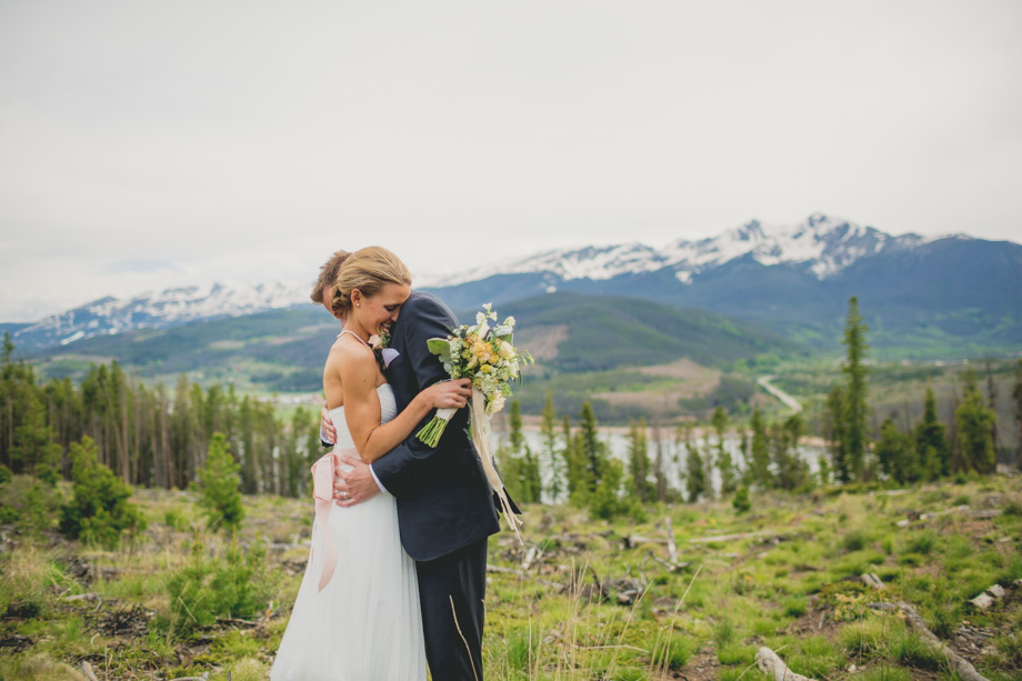 Cori + Chris Sapphire Point wedding in Breckenridge, Colorado