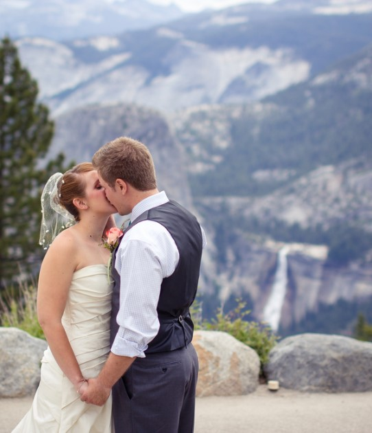 Elise + Aaron: Glacier Point Wedding in Yosemite, CA | Amy Atkins Photography