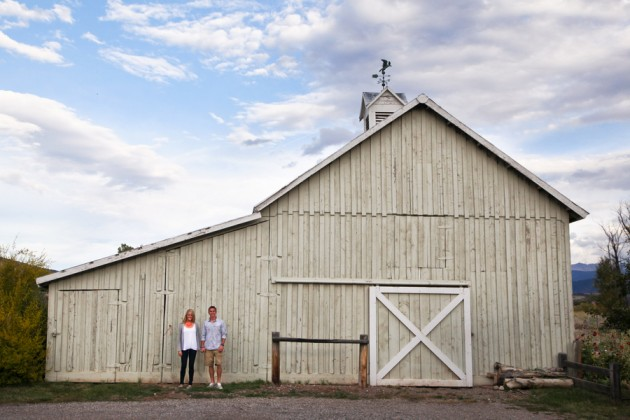 Brooke + JP // Colorado Engagement by Kelly Lemon Photography