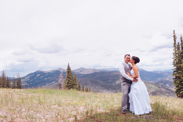 Domonique + Jack at the Grand Hall at Copper Mountain, Colorado | Stacy Keck Photography