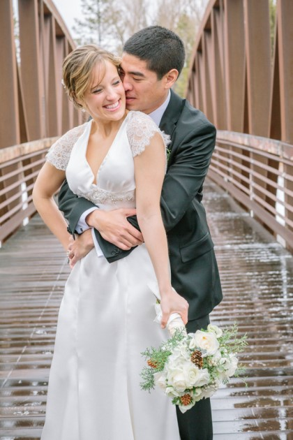 Elise + Kevin at the Grand Hall at Copper Mountain, Colorado   Image: Julia Vandenoever