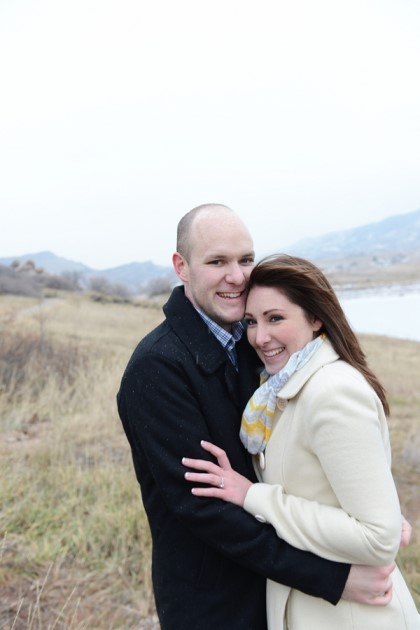 Colorado Wedding Engagement: Stephanie + Christopher by Anna Gleave Photography