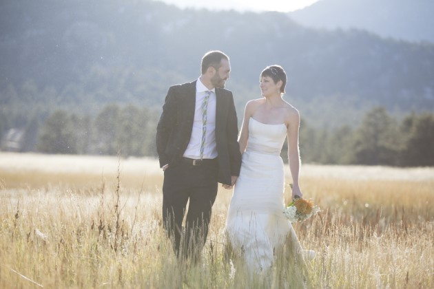 Katelyn + Graham at Estes Park, Colorado | Image: Lucky Malone