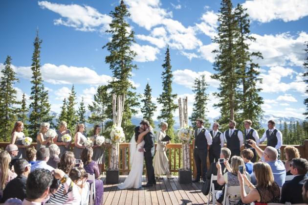 Ashley + Morgan: Keystone, Colorado Wedding at Timber Ridge | Brinton Studios