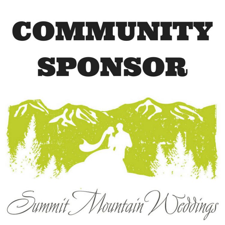 Community Sponsor - Summit Mountain Weddings Badge