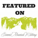 Featured On - Summit Mountain Weddings Badge