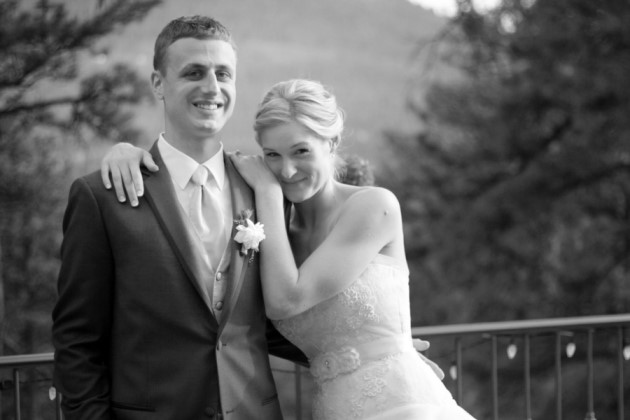 Kelly + Mike: Della Terra Chateau Wedding in Estes Park, Colorado | Image: Callie Riesling Photography