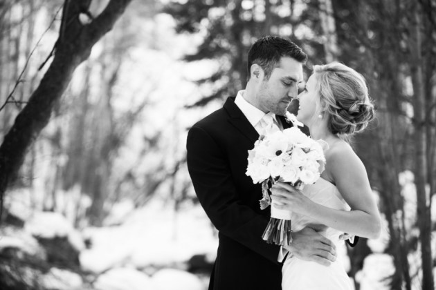 Kate + AJ: Beaver Creek Wedding at Beano's Cabin | Images: Brinton Studios
