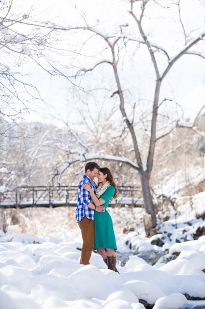 Anastasia + Nathan: Chautauqua Park Engagement Photography | Image: BTW Photography