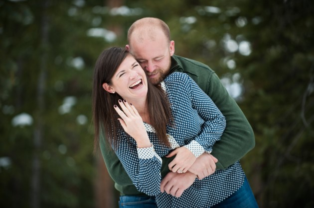 Allie + Preston: Breckenridge, Colorado Engagement Photography | Image: Brinton Studios