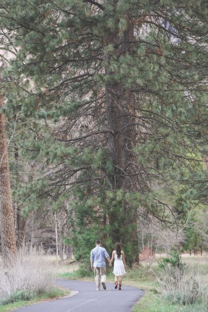 Christine + Thomas: Yosemite, California Engagement Photography | Image: Mr & Mrs Photography