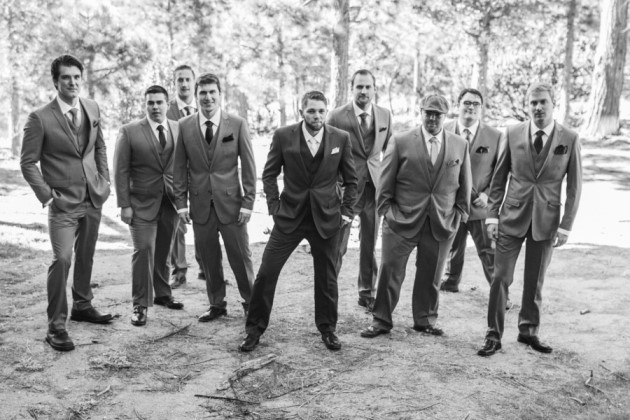 Michelle + Alex: California Wedding at Thousand Pines | Image: Becca Liz Photography