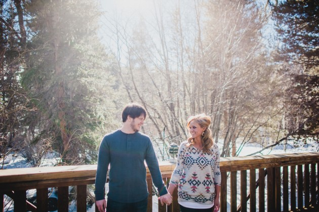Alisha + Alex: Keystone Resort Engagement Photography | Images: Dan Hand Photography