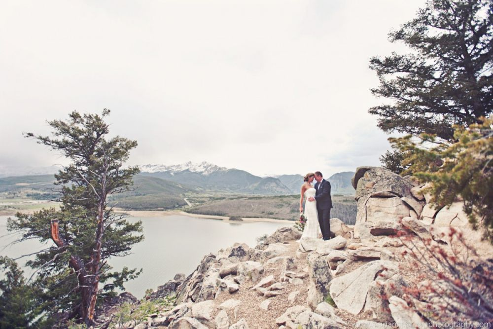 Sapphire Point Wedding | Image: Marianne Brown Photography