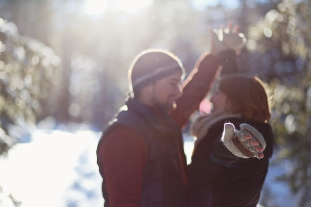 Hannah + Alex: Engagement Photography at the Breckenridge Outdoor Education Center | Images: Nicole Lenzen Photography