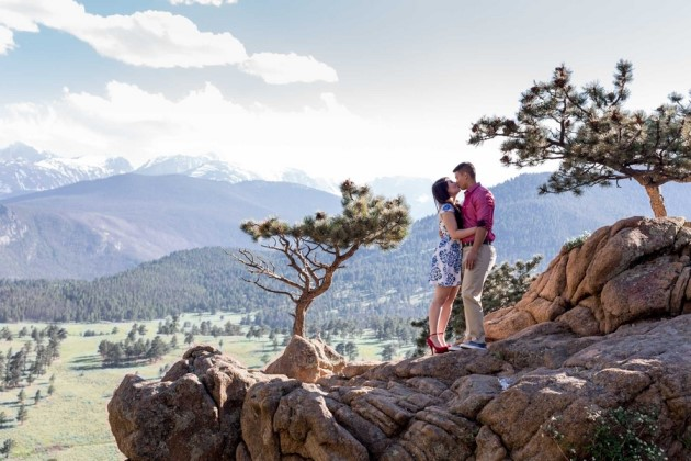 Angelica + Nathan: Wedding Anniversary in Rocky Mountain National Park | Image: Matthew Irving Photography