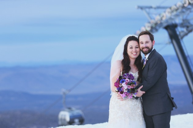 Brandi + Jake: Mammoth Mountain Wedding in California | Image: Cean One Studios