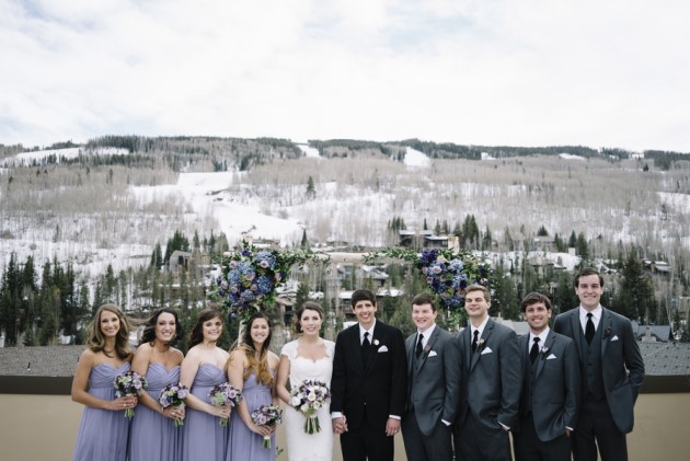 Michelle + Austin: Vail Wedding at the Four Seasons | Image: Preston Utley