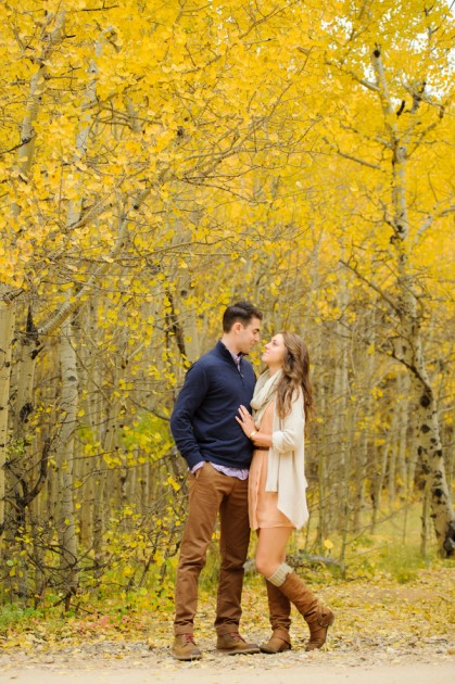 Ali + Austin: Colorado Engagement Photo Session | Image: Melissa Yocum Photography