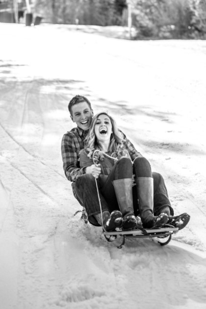 Leslie + Andrew: Colorado Engagement Photography | Image: Aldabella Photography