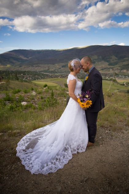 Natalie + Kurt: Summit County Wedding in Silverthorne, Colorado | Image: Timothy Faust Photography