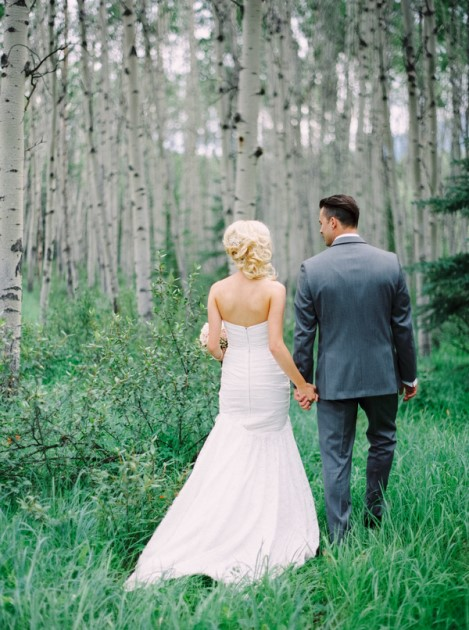 Jessica + Chris: Rocky Mountain Wedding at the Sawridge Inn, Alberta | Image: Milton Photography