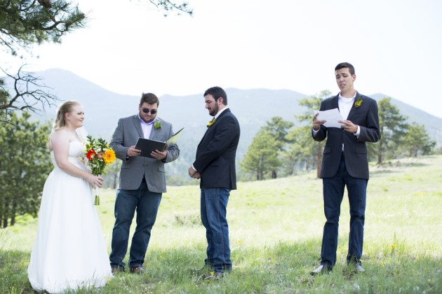 Lindsay + James: Colorado Elopement to Rocky Mountain National Park | Image: Jess Dalton Photography