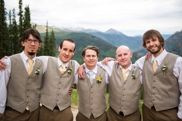 Shantel + Matt: Colorado Wedding at the Copper Mountain Resort | Image: J. La Plante Photo